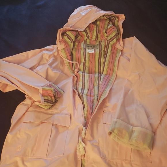 MTC Jackets & Blazers - Pink Thermal Slicks by I de MTC Raincoat